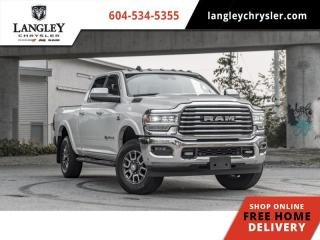 Used 2019 RAM 3500 Longhorn  Aisin / Auto Air Leveling / Loaded for sale in Surrey, BC