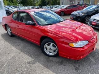 Used 2003 Chevrolet Monte Carlo LS/ AUTO/ PWR GROUP/ ALLOYS/ TC/ CRUISE CTRL ++ for sale in Scarborough, ON