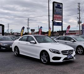 Used 2017 Mercedes-Benz C300 C 300|No Accidents|AWD|LED lighting| NAV| Panoroof for sale in Brampton, ON