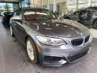 Used 2015 BMW 2 Series M235i AWD, SUMMER&WINTER RIMS W/TIRES, SUNROOF, NAVI, POWER HEATED LEATHER SEATS for sale in Edmonton, AB