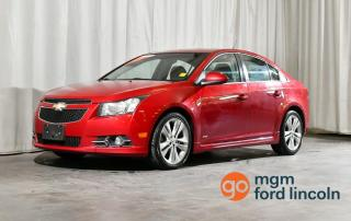Used 2012 Chevrolet Cruze LT Turbo+ w/1SB 4dr FWD 4-door for sale in Red Deer, AB