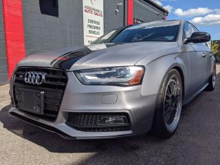 Used 2016 Audi S4 S4,AWD,FULL EQUIPPED,NAVI,1 OWNER, NO ACCIDENTS for sale in Burlington, ON