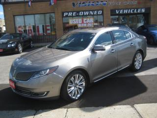 Used 2016 Lincoln MKS ELITE PACKAGE  3.5L EcoBoost AWD for sale in North York, ON