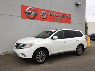 Used 2015 Nissan Pathfinder SL 4dr 4WD Sport Utility for sale in Edmonton, AB