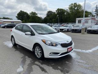 Used 2015 Kia Forte LX 4dr FWD Sedan for sale in Brantford, ON