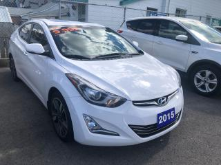 Used 2015 Hyundai Elantra Limited for sale in St Catharines, ON