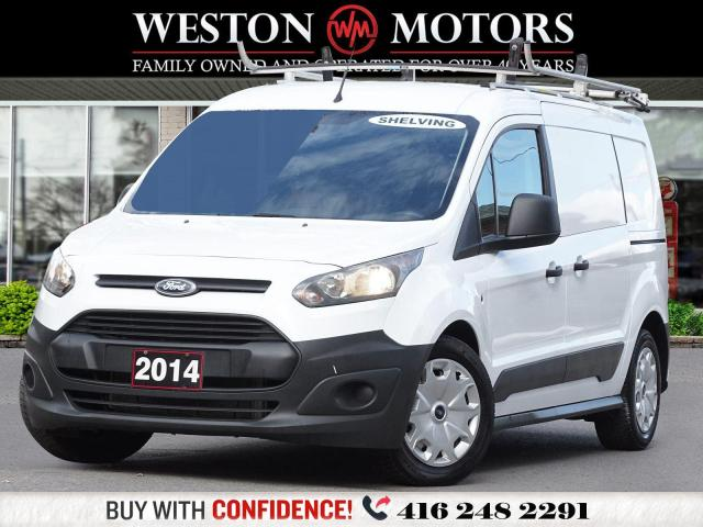 2014 Ford Transit Connect XL*SHELVING*ROOF RACK!!*