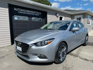 Used 2018 Mazda MAZDA3 GS with Navigation for sale in Kingston, ON