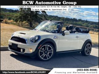 Used 2013 MINI Cooper CONVERTIBLE S Chrome Line for sale in Calgary, AB