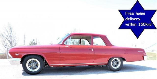 1962 Chevrolet Biscayne 502 5 speed A/C Beautiful