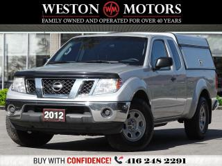 Used 2012 Nissan Frontier KING CAB*2WD*4CYL*4PASS*POWER CONTROLS*BOX CAP for sale in Toronto, ON