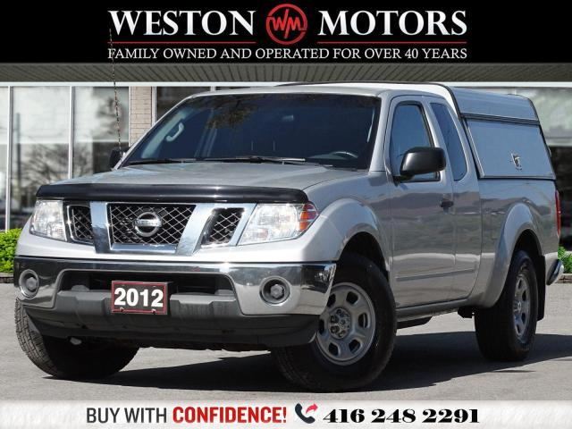 2012 Nissan Frontier CREW KING CAB*2WD*4CYL*4PASS*PWR CTRLS*BOX CAP*