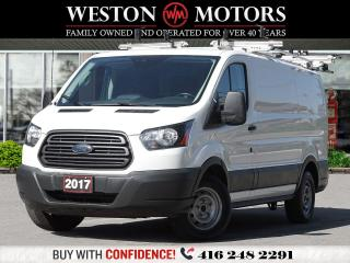Used 2017 Ford Transit 150 130 LOW ROOF*ROOF RACK*SHELVING*BACKUP CAM** for sale in Toronto, ON
