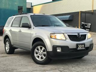 Used 2011 Mazda Tribute AWD V6|Leather|Sunroof|Rear camera|Certified for sale in Burlington, ON