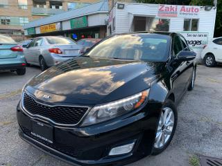 Used 2014 Kia Optima Leather Seats Backup Camera EX LUXURY for sale in Toronto, ON