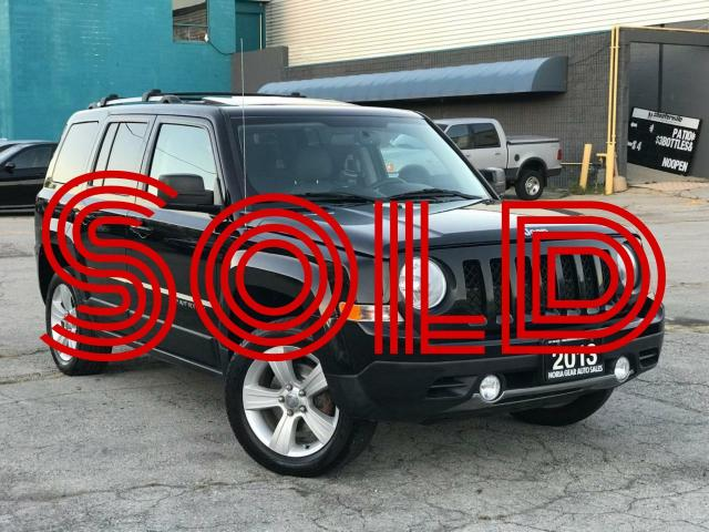 2013 Jeep Patriot 4WD|Sport|Manual|Leather|Sunroof|Accident free