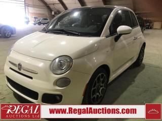 Used 2012 Fiat 500 2D Hatchback for sale in Calgary, AB