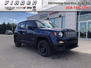 Used 2016 Jeep Renegade Sport for sale in Virden, MB