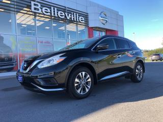 Used 2017 Nissan Murano S Fwd Heated seats, back up camera for sale in Belleville, ON