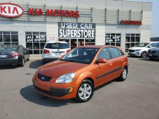 Used 2009 Kia Rio5 EX Convenience, Heated Seats,  Keyless Entry, Blue for sale in Niagara Falls, ON