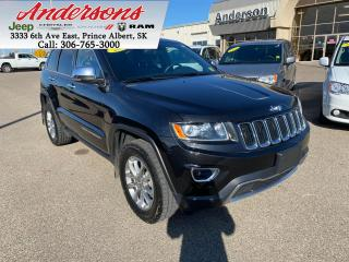 Used 2015 Jeep Grand Cherokee Limited *Heated Seats* for sale in Prince Albert, SK
