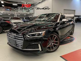Used 2018 Audi S5 Cabriolet 3.0 TECHNIK I CONVERTIBLE I COMING SOON I NAVI for sale in Vaughan, ON