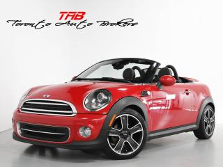 Used 2012 MINI Cooper Roadster I CONVERTIBLE I LEATHER I CLEAN CARFAX for sale in Vaughan, ON