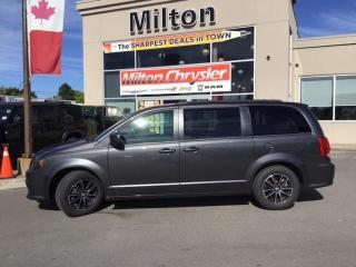 Used 2019 Dodge Grand Caravan GT|LEATHER|NAVIGATION|DVD|POWER DOORS for sale in Milton, ON