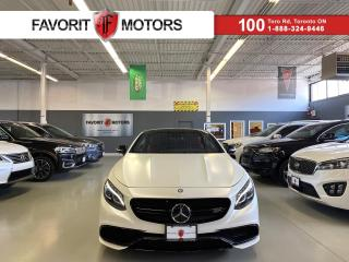 Used 2016 Mercedes-Benz S-Class S63 AMG COUPE|577HP|MASSAGE|NIGHTVISION|MAGICSKY|+ for sale in North York, ON