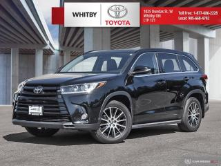 Used 2017 Toyota Highlander XLE for sale in Whitby, ON