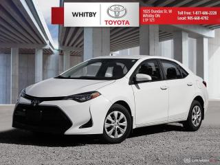 Used 2019 Toyota Corolla CE for sale in Whitby, ON