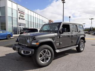 New 2021 Jeep Wrangler Unlimited NAVI LEATHER BODY COLOR TOP SAFETY GROUP for sale in Pickering, ON
