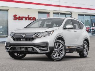 New 2020 Honda CR-V Touring 4WD for sale in Brandon, MB