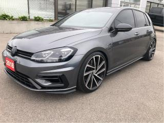 Used 2018 Volkswagen Golf R 2.0L Turbo, 6-Speed, All Wheel Drive for sale in Hamilton, ON