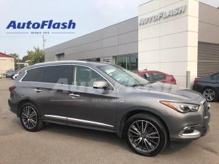 Used 2017 Infiniti QX60 Technology-Pkg *DVD *Camera-360 *GPS *Drive-Assist for sale in Saint-Hubert, QC