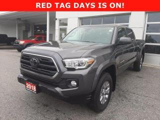 Used 2018 Toyota Tacoma 4x4 Double Cab V6 Auto SR5 for sale in North Bay, ON