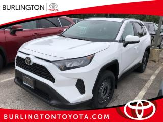 New 2020 Toyota RAV4 LE FWD for sale in Burlington, ON