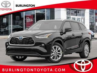 New 2020 Toyota Highlander HYBRID Limited AWD for sale in Burlington, ON