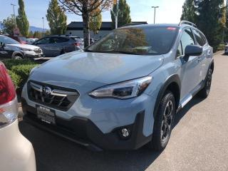 New 2021 Subaru XV Crosstrek Sport CVT for sale in Port Coquitlam, BC