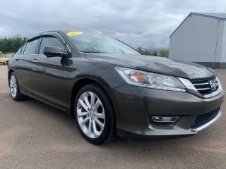 Used 2013 Honda Accord Touring V6 for sale in Summerside, PE