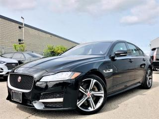Used 2018 Jaguar XF 25t R-SPORT|AWD|SUNROOF|MEMORY SEATS|NAVI|PARKING SENSORS for sale in Brampton, ON