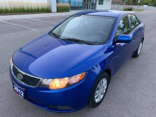 Used 2012 Kia Forte 4dr Sdn LX for sale in Mississauga, ON
