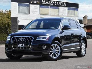 Used 2014 Audi Q5 2.0L Quattro AWD Progressiv *Navi, Pano Roof, HID* for sale in Scarborough, ON