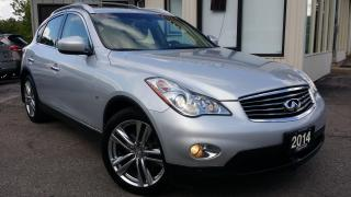 Used 2014 Infiniti QX50 JOURNEY AWD -LEATHER! NAV! 360 CAM! BOSE AUDIO! for sale in Kitchener, ON