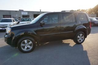 Used 2010 Honda Pilot EX-L 4WD TOURING PKG DVD CAMERA SUNROOF LEATHER ALLOYS *8 PASSENGERS* for sale in Milton, ON
