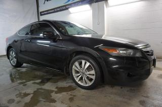 Used 2011 Honda Accord EX-L COUPE 5SPD CERTIFIED 2YR WARRANTY SUNROOF BLUETOOTH LEATHER ALLOYS for sale in Milton, ON
