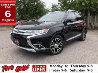 Used 2016 Mitsubishi Outlander SE Touring Pkg | 7 Pass | AWD | Sunroof | Htd Seat for sale in St Catharines, ON