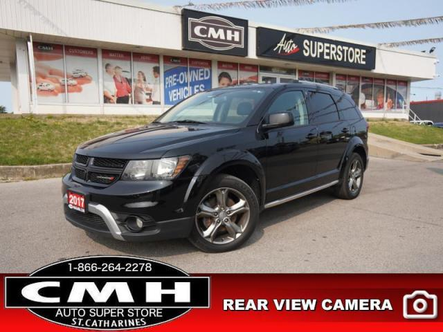 2017 Dodge Journey Crossroad  7-PASS LEATH DVD CAM HTD-SEATS