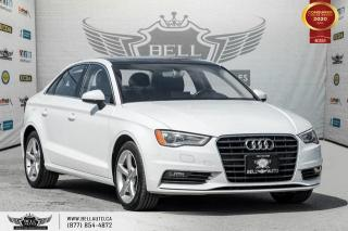 Used 2016 Audi A3 1.8T Komfort, NO ACCIDENT, SUNROOF, BLUETOOTH, LEATHER for sale in Toronto, ON