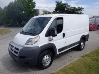 Used 2015 RAM ProMaster 1500 Eco Diesel Low Roof Tradesman 118-in. WB Cargo Van for sale in Burnaby, BC